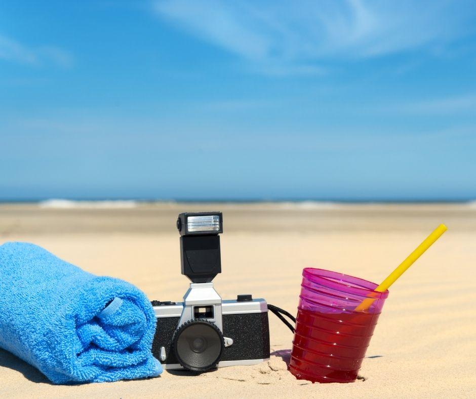 aparat na wakacje, plaża